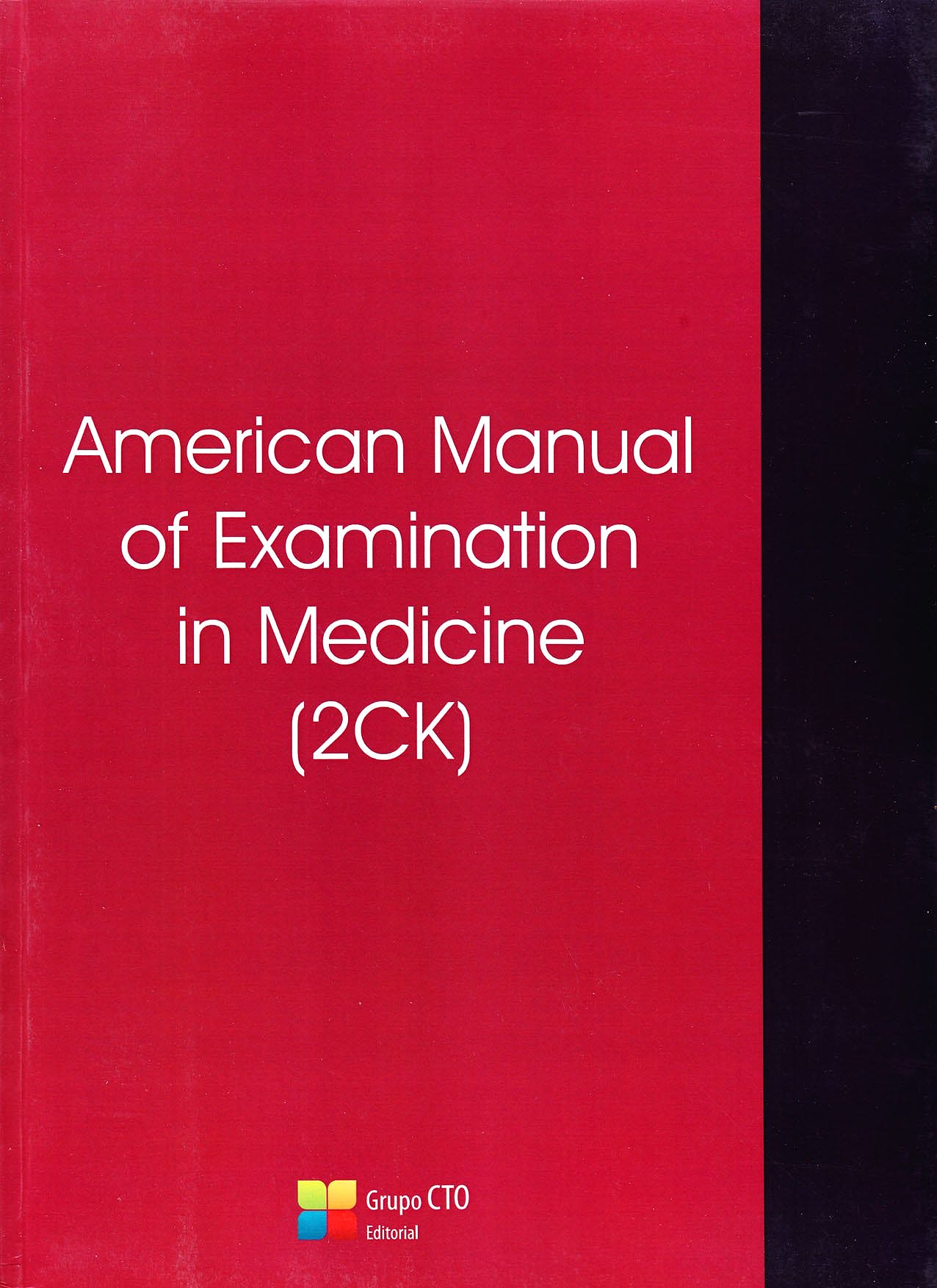 Portada del libro 9788416276219 American Manual of Examination in Medicine (2ck) American Manual of Examination in Medicina (2ck)