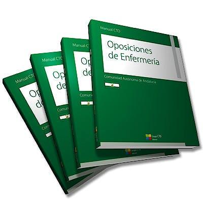 Portada del libro 9788416276226 Manual CTO Oposiciones de Enfermería Comunidad Autónoma de Andalucía, 4 Vols.