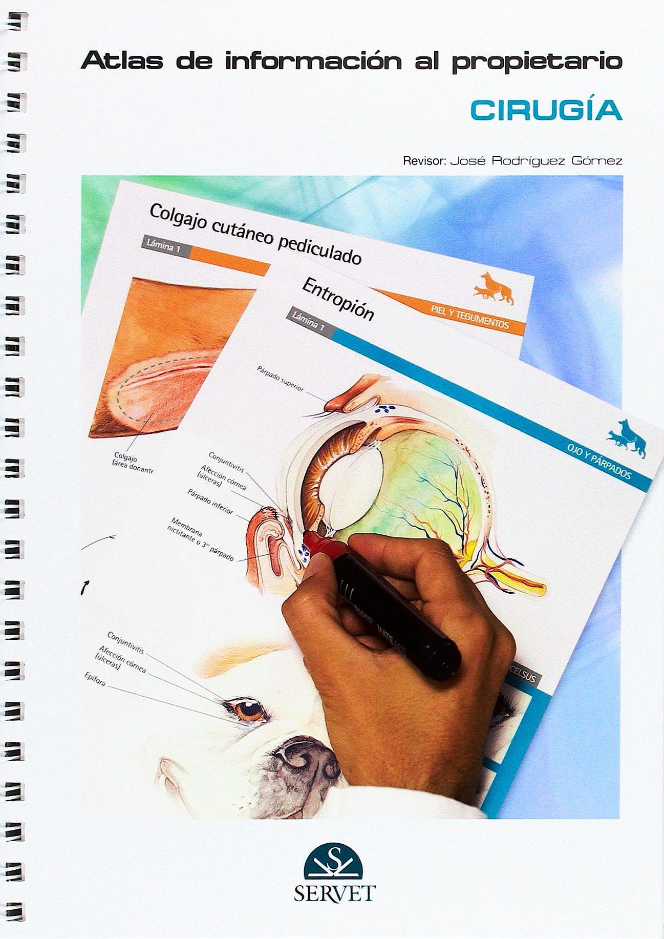 Portada del libro 9788416315123 Atlas de Informacion al Propietario. Serie Cirugia