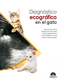 Portada del libro 9788416315307 Diagnóstico Ecográfico en el Gato