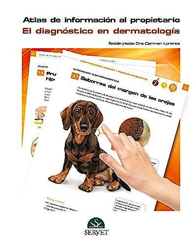 Portada del libro 9788416315390 Atlas de Informacion al Propietario. el Diagnostico en Dermatologia