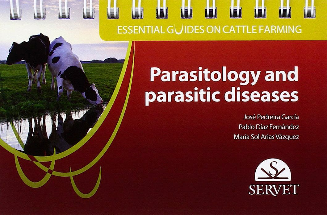 Portada del libro 9788416315611 Essential Guides on Cattle Farming. Parasitology and Parasitic Diseases
