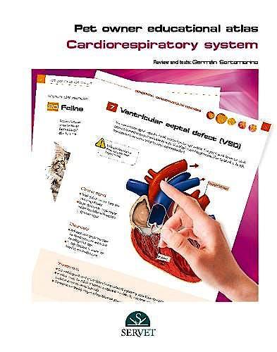 Portada del libro 9788416315949 Pet Owner Educational Atlas. Cardiorespiratory System