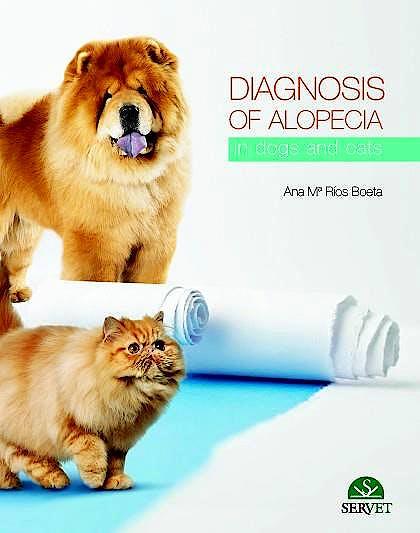 Portada del libro 9788416315987 Diagnosis of Alopecia in Dogs and Cats