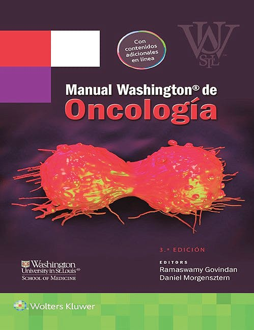 Portada del libro 9788416353460 Manual Washington de Oncología