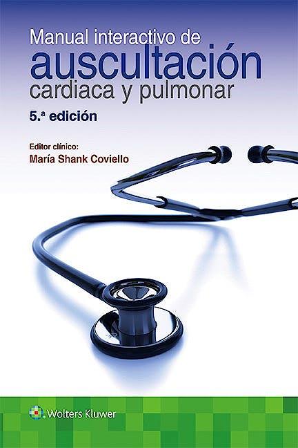 Portada del libro 9788416353729 Manual Interactivo de Auscultacion Cardiaca y Respiratoria + Acceso Online