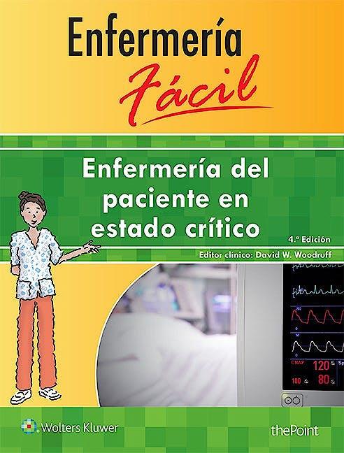 Portada del libro 9788416353804 Enfermería del Paciente en Estado Crítico (Enfermería Fácil)