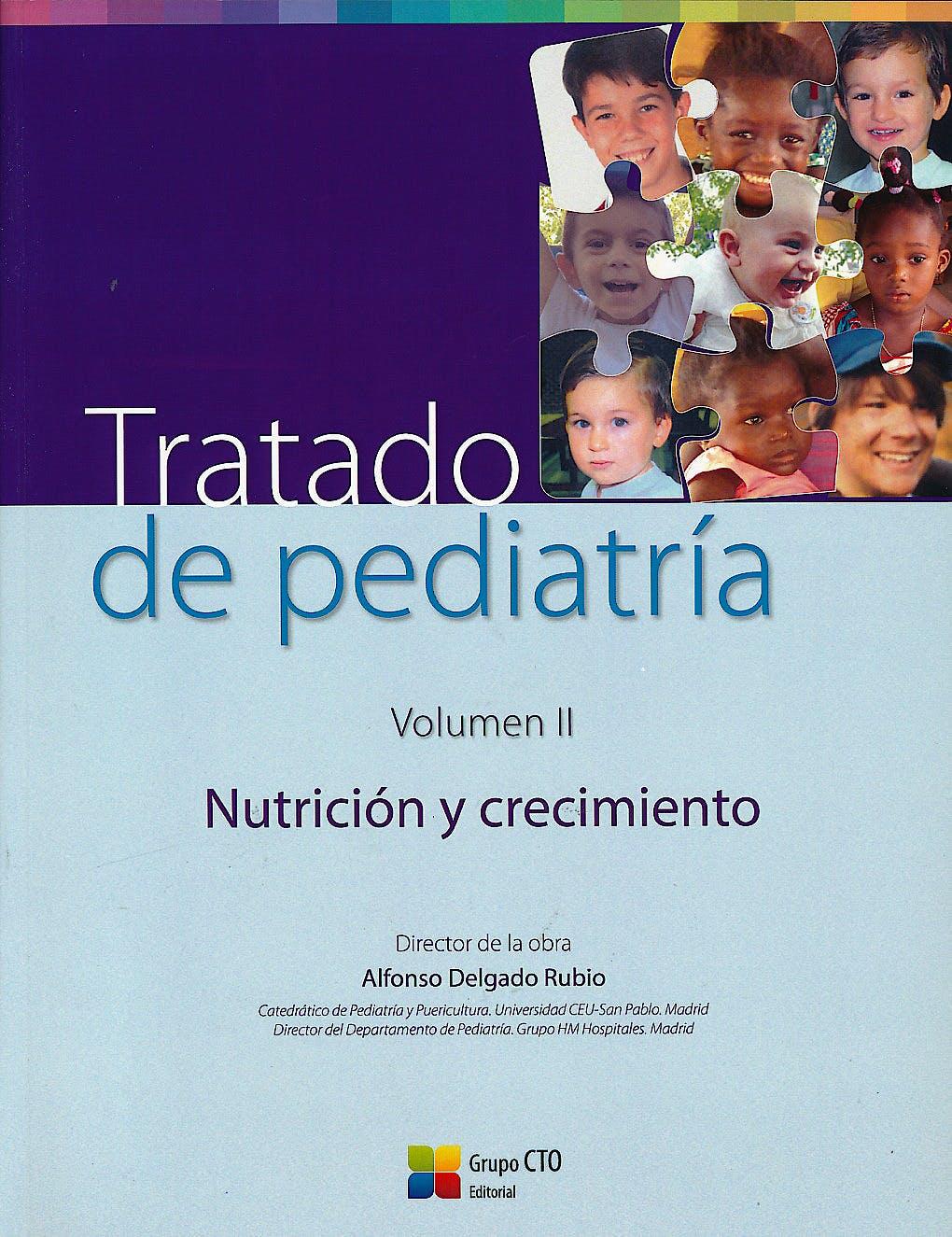 Portada del libro 9788416403578 Tratado de Pediatría, Vol. 2: Nutrición y Crecimiento