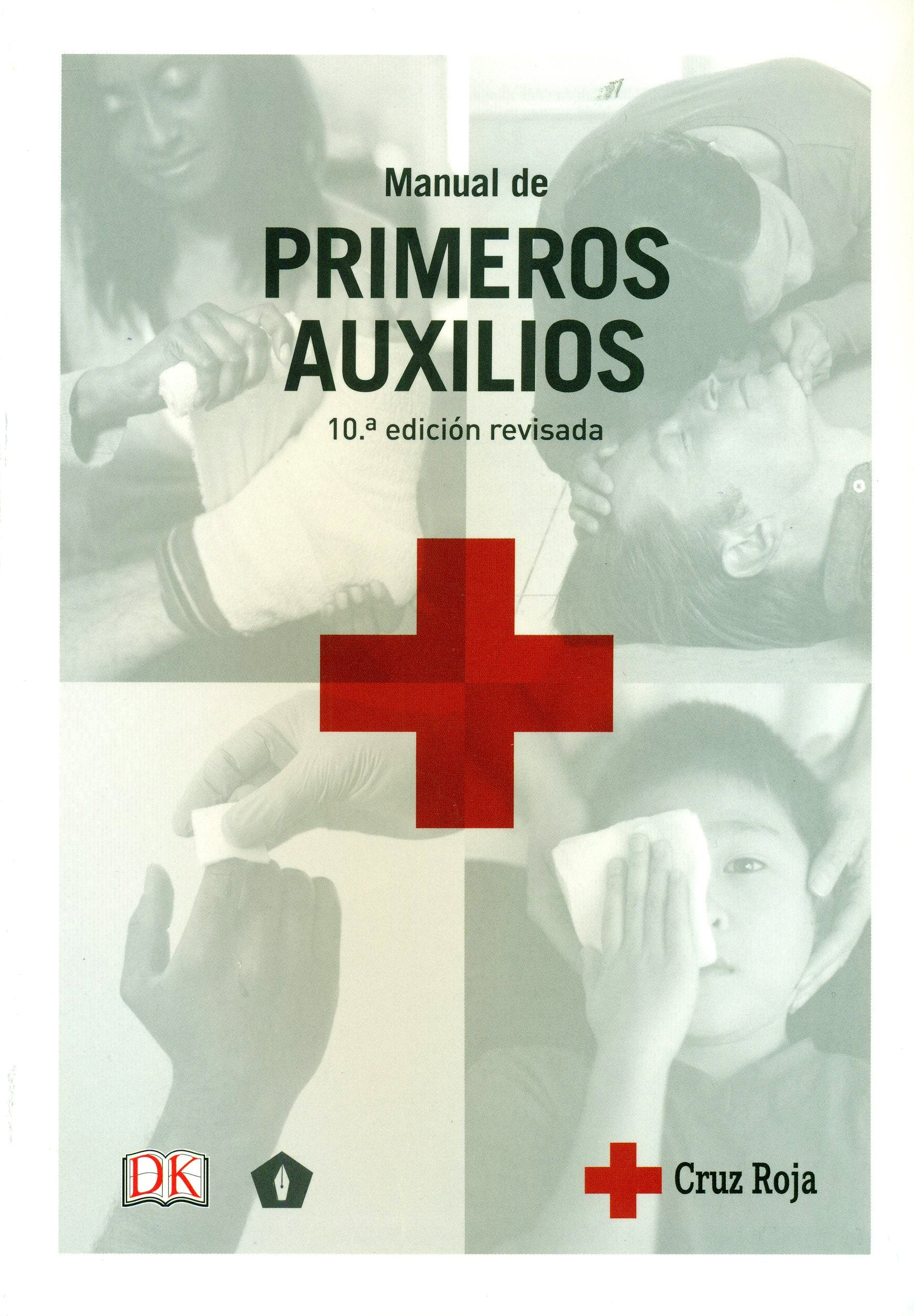 Portada del libro 9788416407125 Manual de Primeros Auxilios Cruz Roja Española