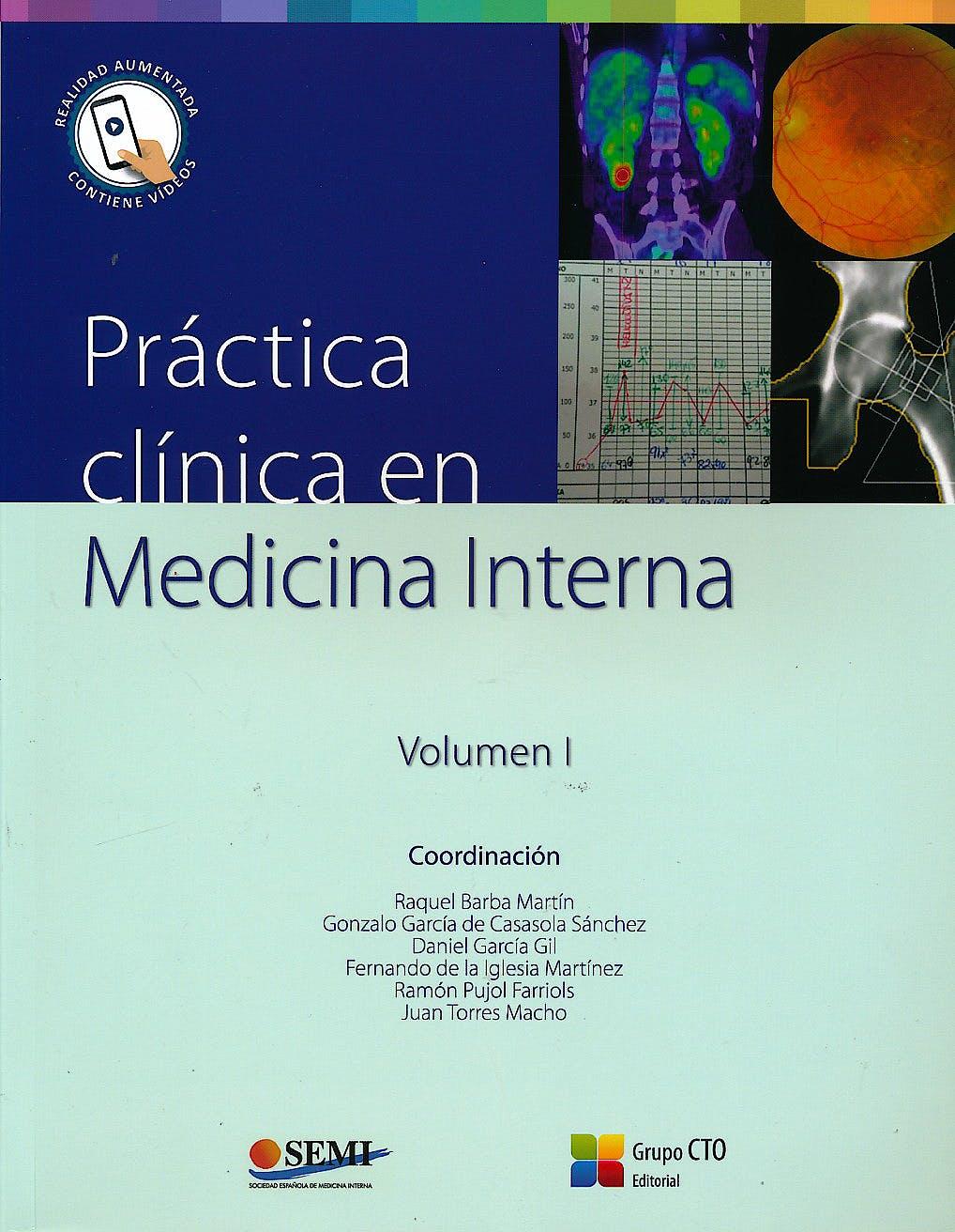 Portada del libro 9788416527533 Práctica Clínica en Medicina Interna, Vol. I