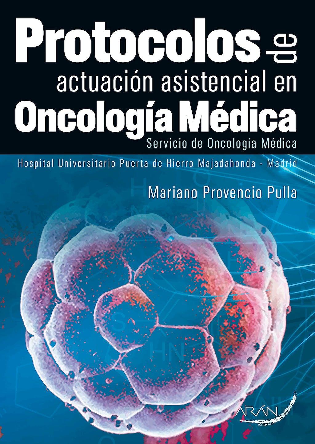 Portada del libro 9788416585168 Protocolos de Actuacion Asistencial en Oncologia Medica