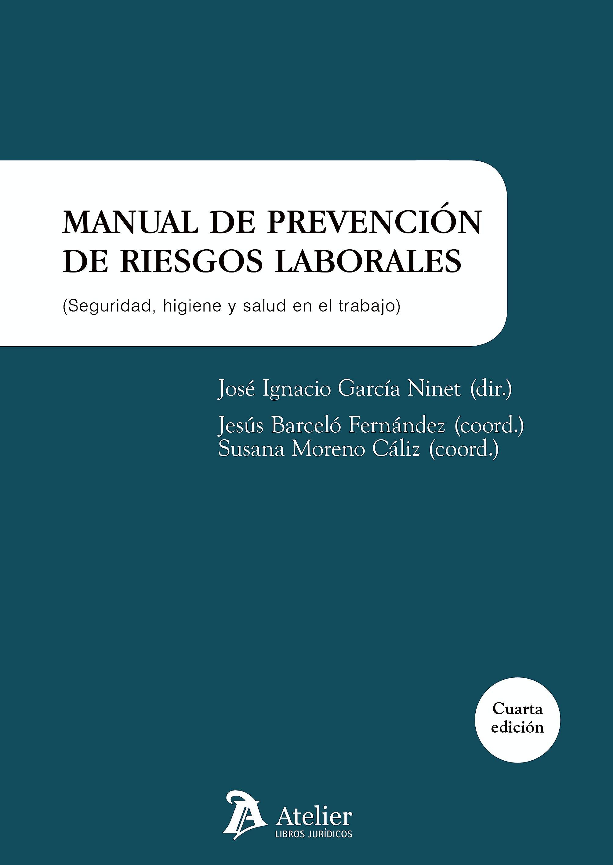 Portada del libro 9788416652464 Manual de Prevención de Riesgos Laborales. Seguridad, Higiene y Salud en el Trabajo