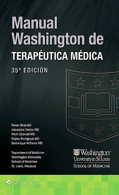Portada del libro 9788416654987 Manual Washington de Terapéutica Médica