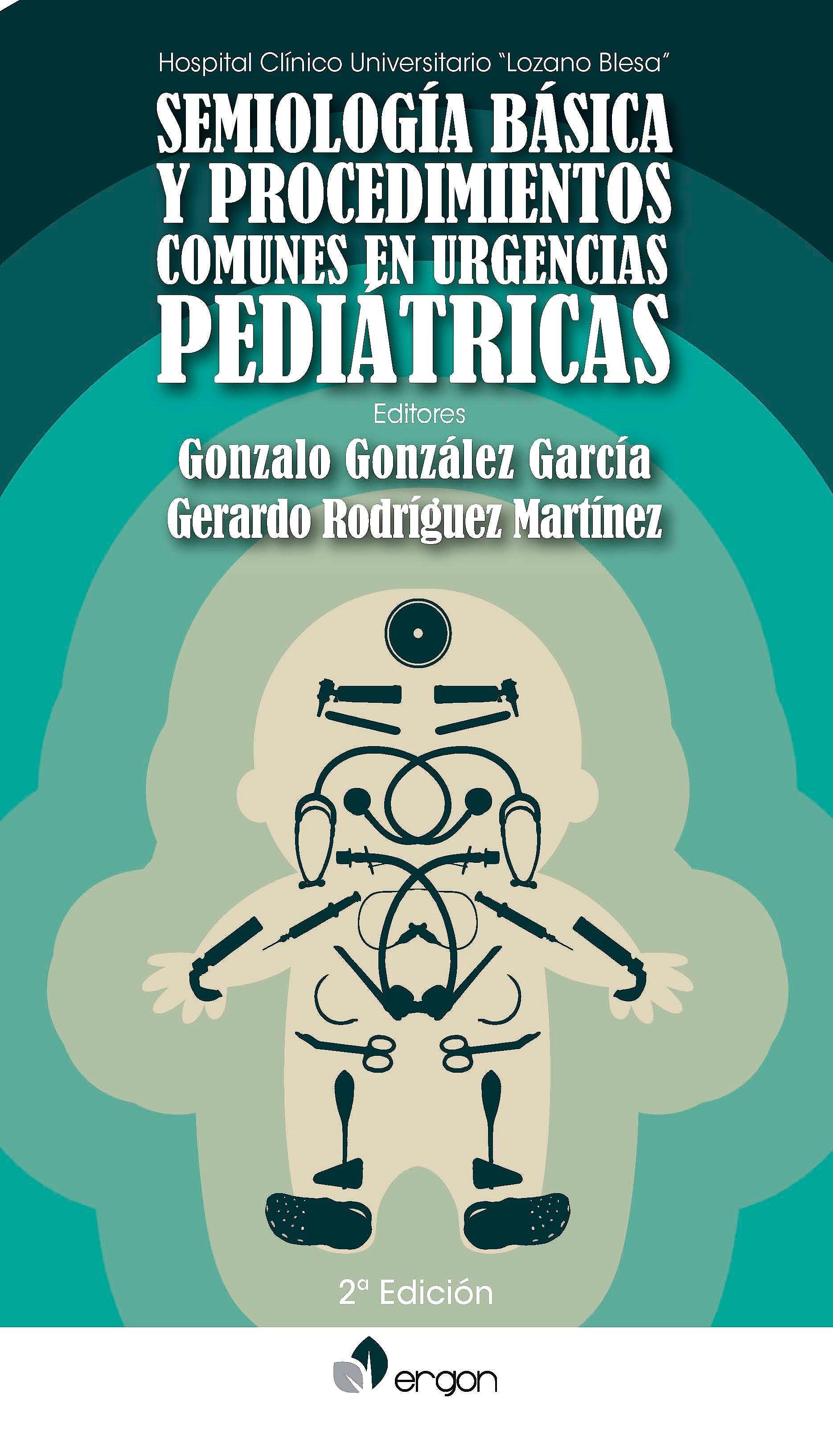 Portada del libro 9788416732555 Semiología Básica y Procedimientos Comunes en Urgencias Pediátricas