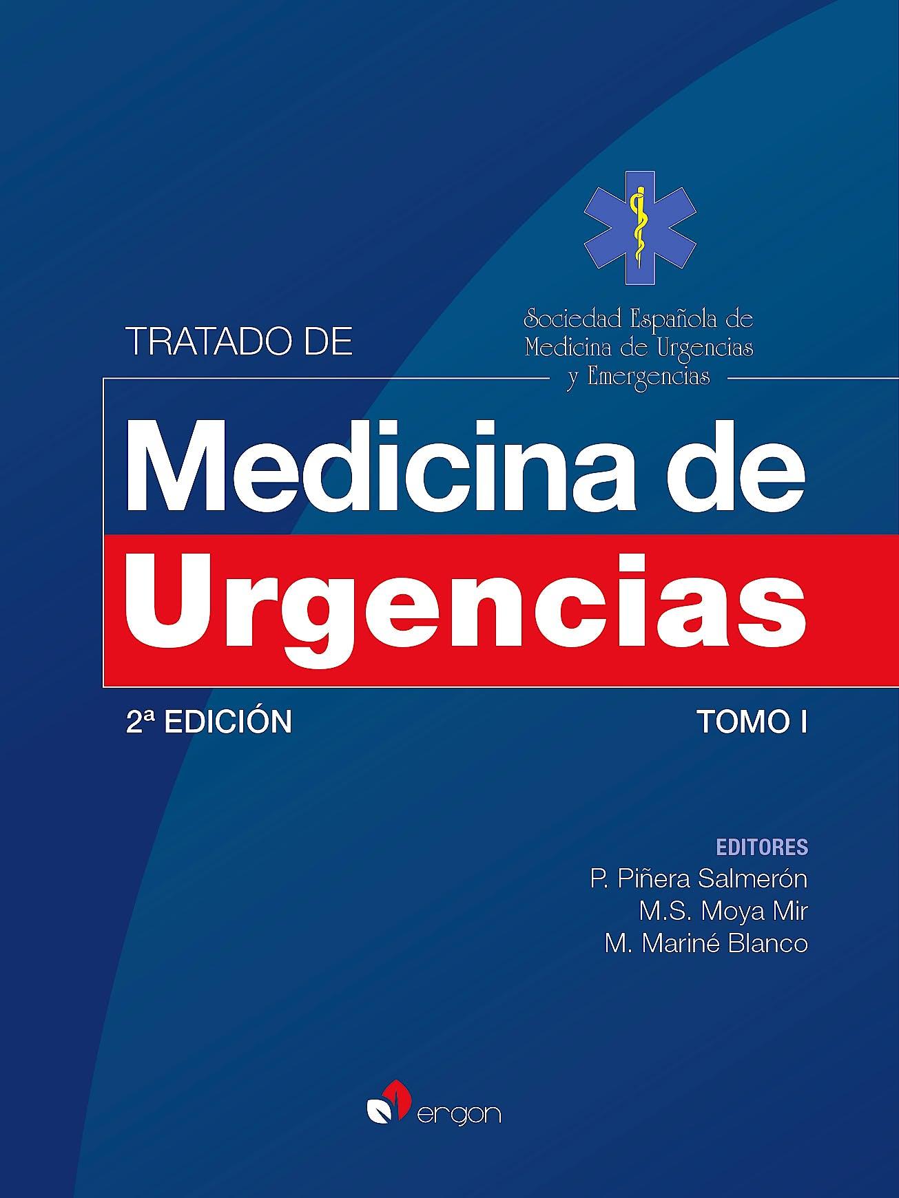 Portada del libro 9788416732869 Tratado de Medicina de Urgencias, Tomo 1 -** En reimpresión** Más ejemplares a finales de Mayo
