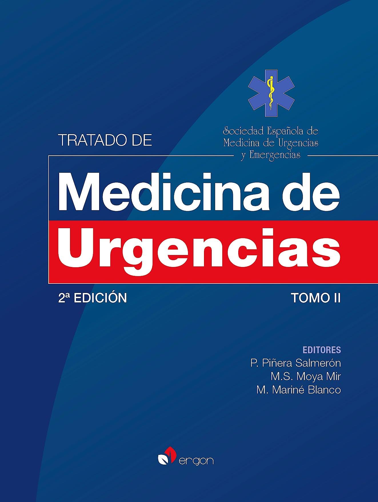 Portada del libro 9788416732876 Tratado de Medicina de Urgencias, Tomo 2