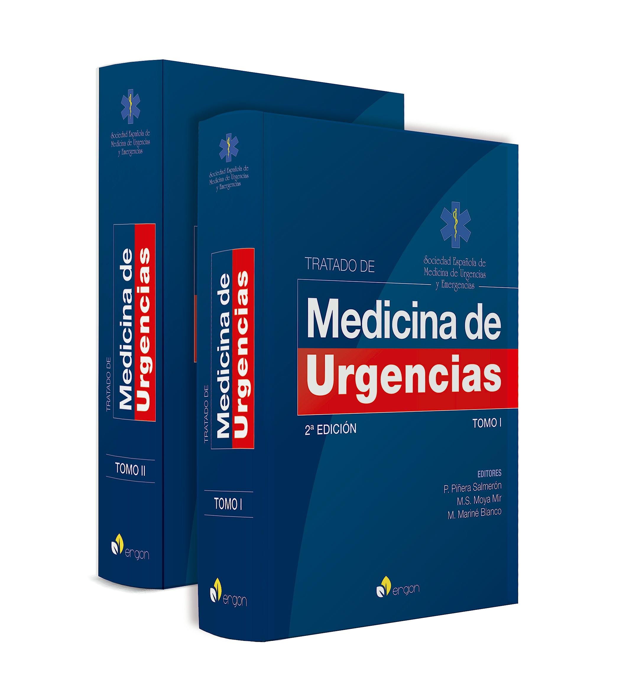 Portada del libro 9788416732883 Tratado de Medicina de Urgencias, 2 Tomos ** En Reimpresión. Disponible en Mayo 2021**