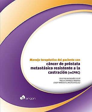Portada del libro 9788416732890 Manejo Terapéutico del Paciente con Cáncer de Próstata Metastásico Resistente a la Castración (mCPRC)