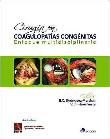 Portada del libro 9788416732937 Cirugía en Coagulopatías Congénitas. Enfoque Multidisciplinario