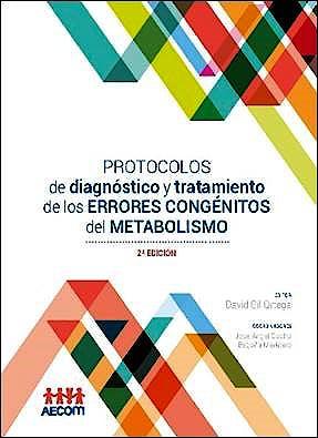 Portada del libro 9788416732982 Protocolos de Diagnóstico y Tratamiento de los Errores Congénitos del Metabolismo