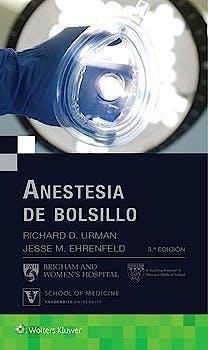 Portada del libro 9788416781638 Anestesia de Bolsillo