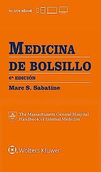 Portada del libro 9788416781652 Medicina de Bolsillo (The Massachusetts General Hospital Handbook of Internal Medicine)