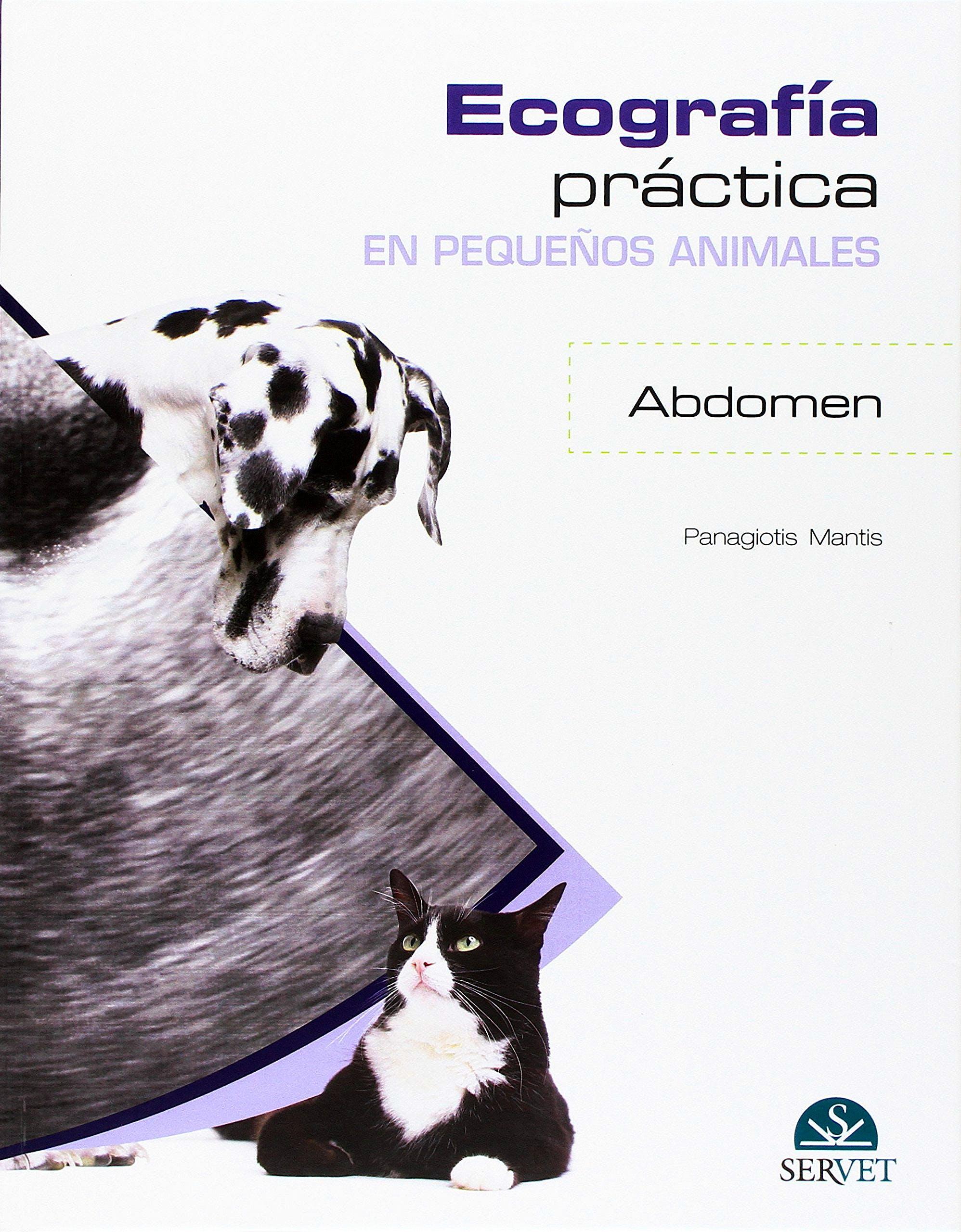 Portada del libro 9788416818037 Ecografia Practica en Pequeños Animales. Abdomen