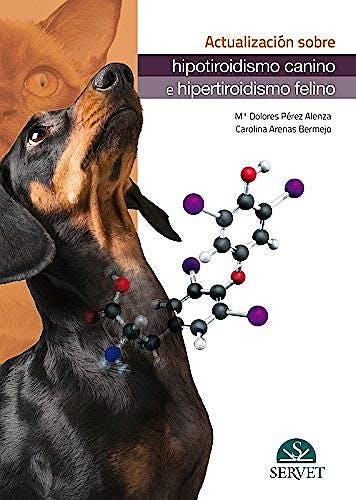 Portada del libro 9788416818181 Actualización sobre Hipotiroidismo Canino e Hipertiroidismo Felino