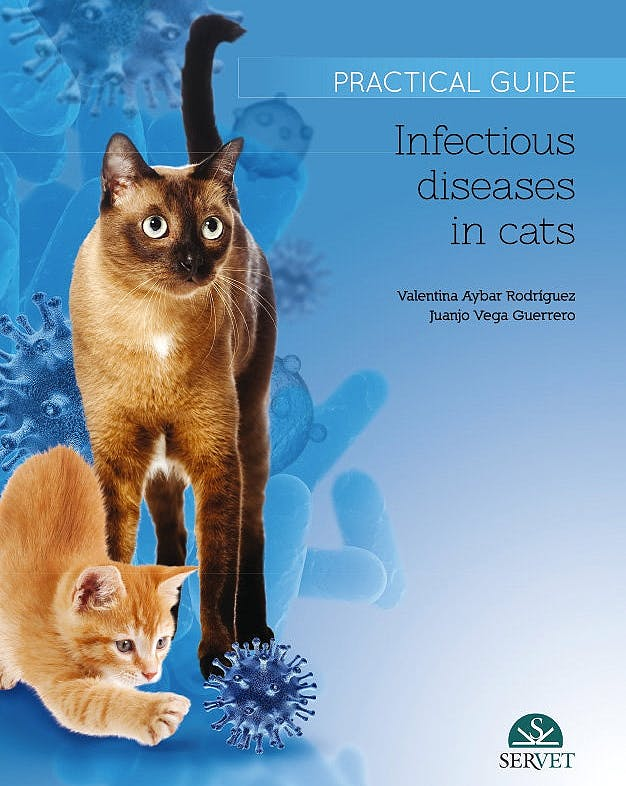 Portada del libro 9788416818839 Infectious Diseases in Cats. Practical Guide