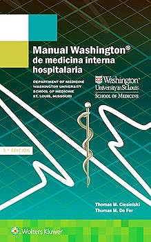 Portada del libro 9788417033040 Manual Washington de Medicina Interna Hospitalaria