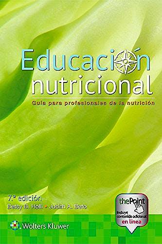 Portada del libro 9788417033163 Educación Nutricional. Guía para Profesionales de la Nutrición