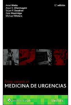 Portada del libro 9788417033286 Errores Comunes en Medicina de Urgencias