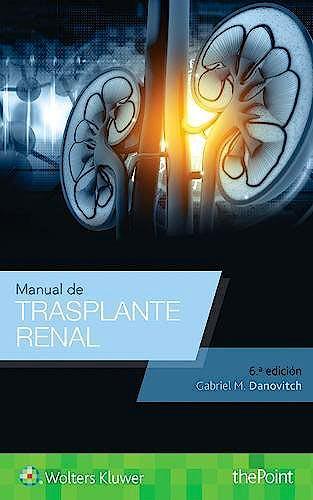 Portada del libro 9788417033323 Manual de Trasplante Renal