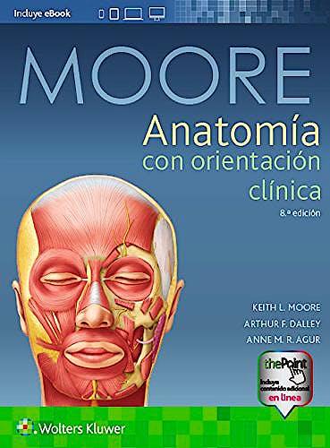 Portada del libro 9788417033637 Anatomía con Orientación Clínica + Acceso Online