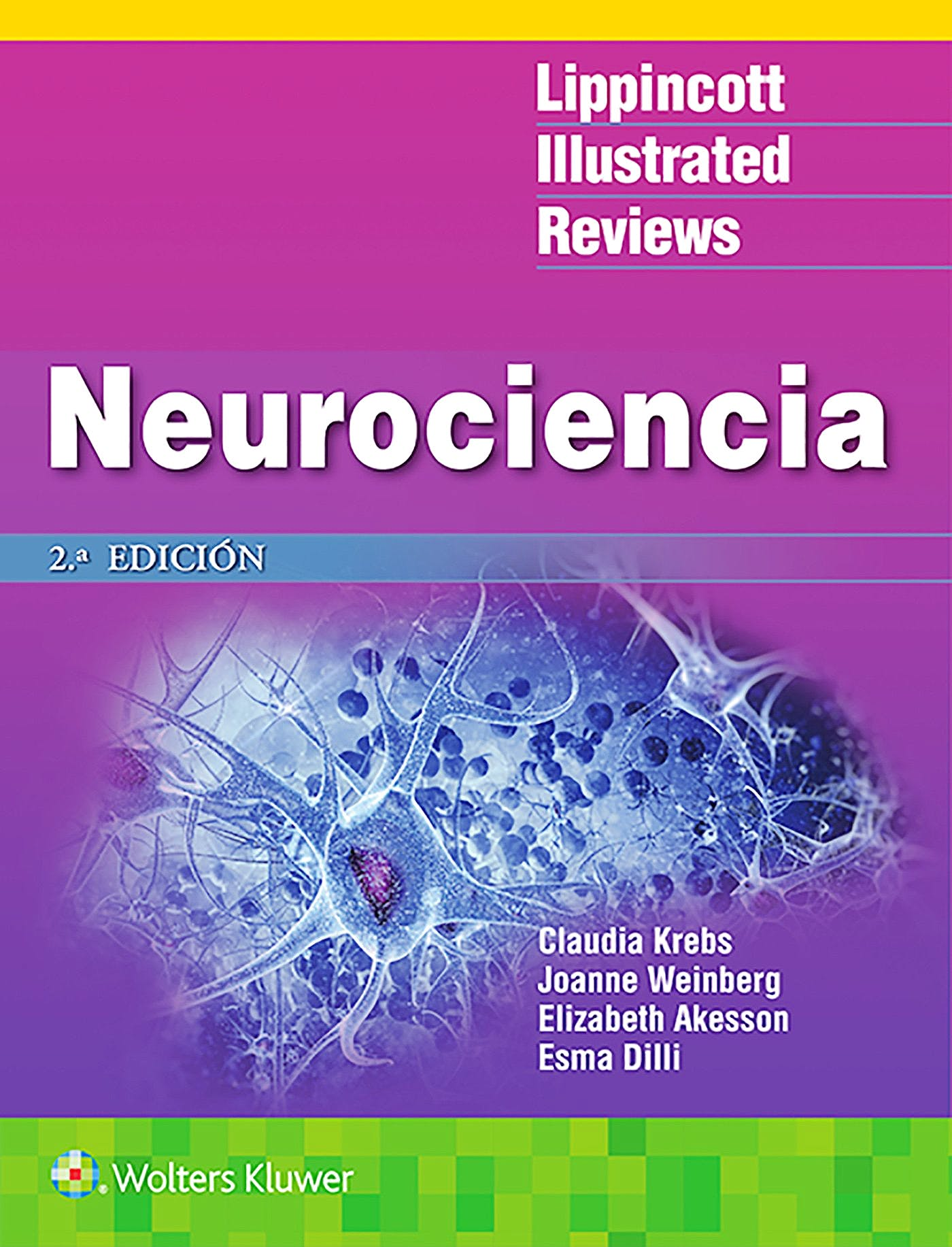 Portada del libro 9788417033897 Neurociencia (Lippincott Illustrated Reviews)