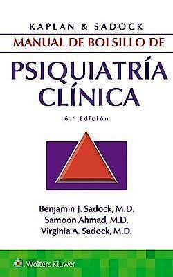 Portada del libro 9788417033989 KAPLAN y SADOCK Manual de Bolsillo de Psiquiatría Clínica