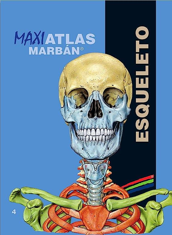 Portada del libro 9788417184087 Maxi Atlas, Vol. 4: Esqueleto