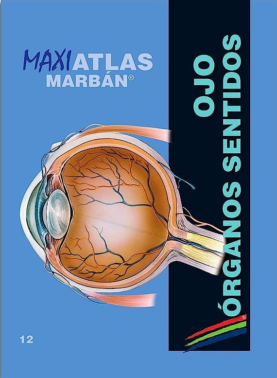 Portada del libro 9788417184162 Maxi Atlas, Vol. 12: Ojo. Órganos de los Sentidos