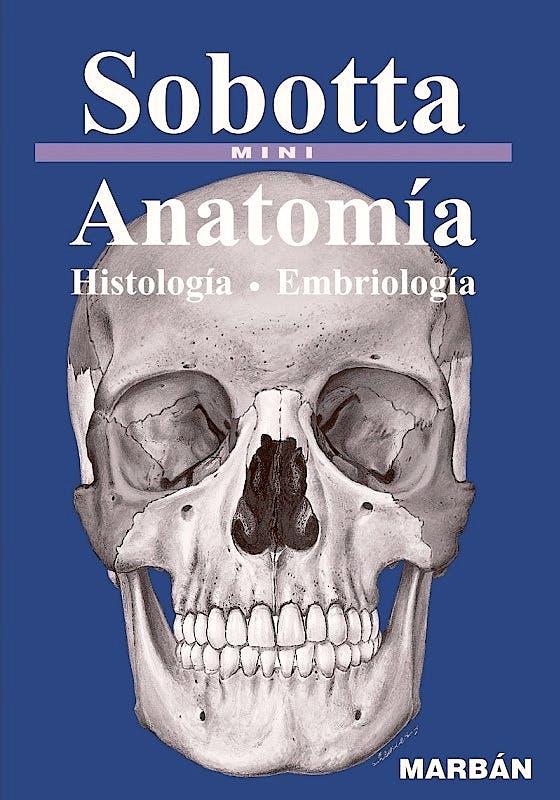 Portada del libro 9788417184216 Sobotta Mini. Anatomía. Histología. Embriología (Tapa Dura)