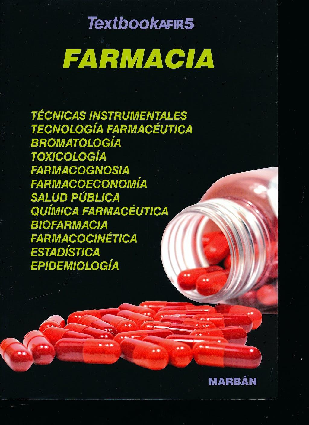Portada del libro 9788417184490 Textbook AFIR, Vol. 5: Farmacia