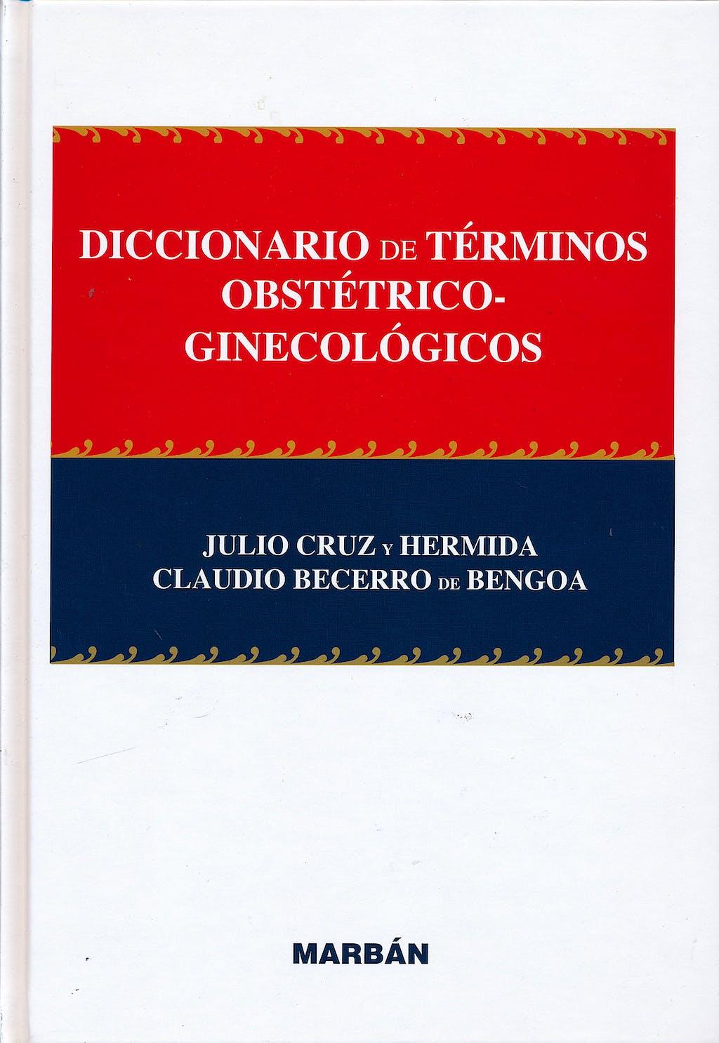 Portada del libro 9788417184520 Diccionario de Términos Obstétrico-Ginecológicos