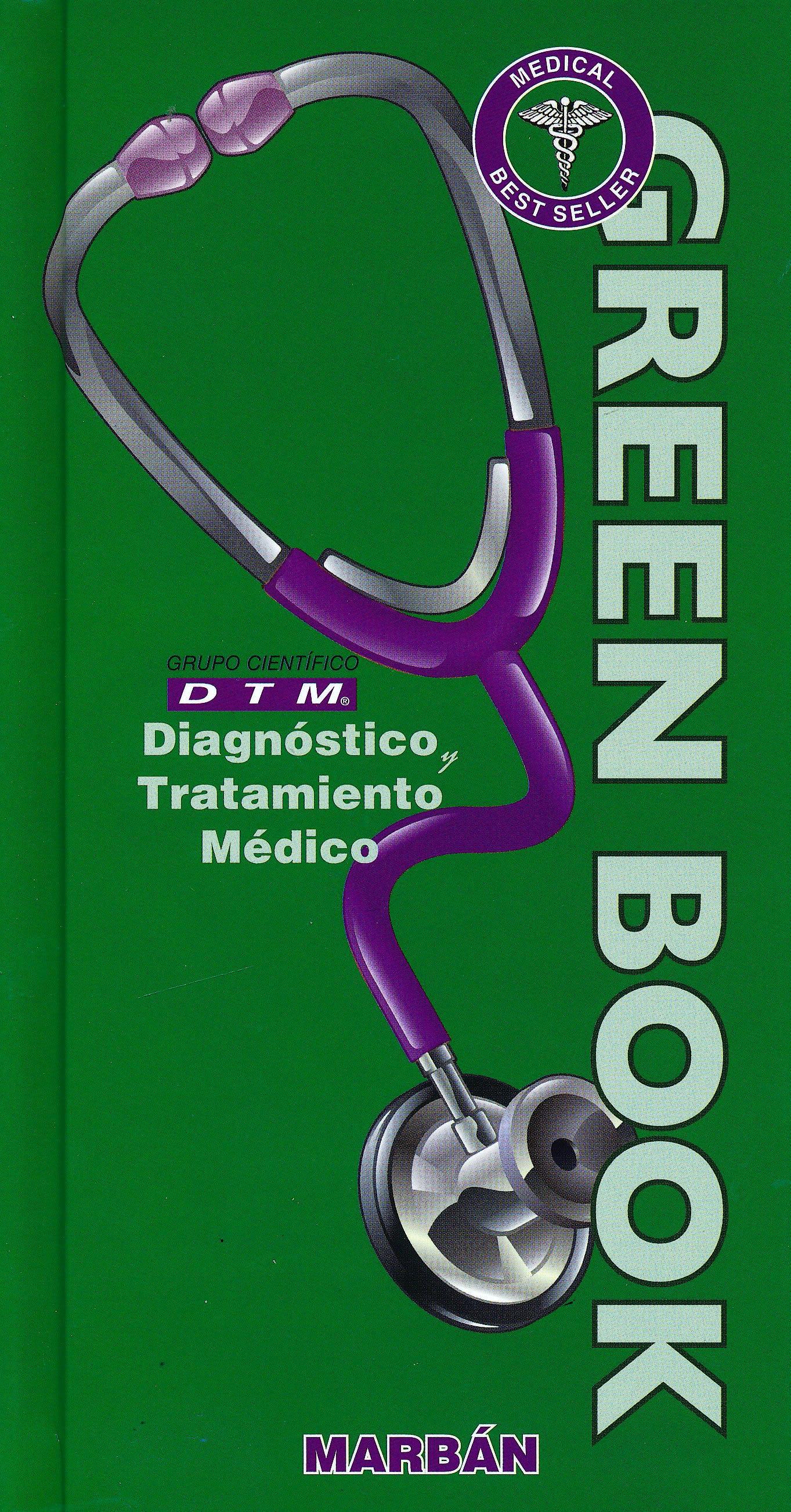 Portada del libro 9788417184773 Diagnóstico y Tratamiento Médico DTM Green Book (Tapa Dura)