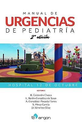 Portada del libro 9788417194314 Manual de Urgencias de Pediatría Hospital 12 de Octubre