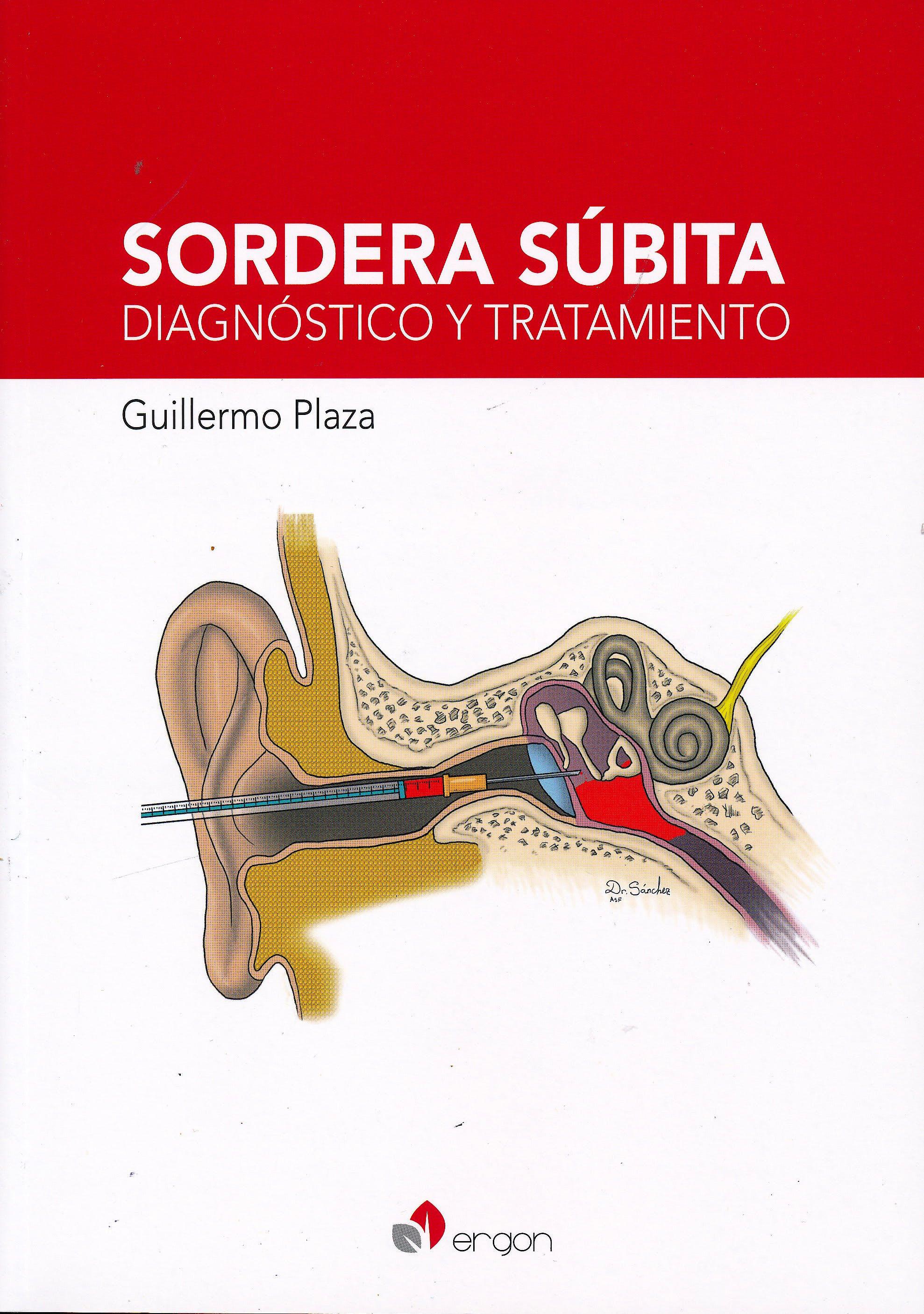 Portada del libro 9788417194680 Sordera Súbita. Diagnóstico y Tratamiento