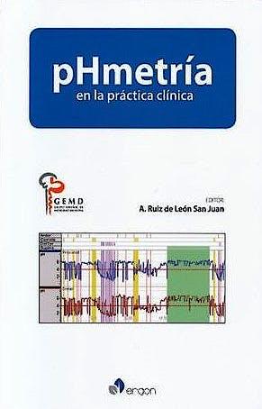 Portada del libro 9788417194802 pHmetría en la Práctica Clínica