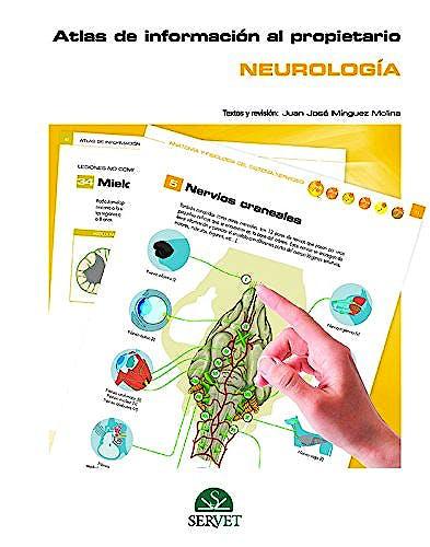 Portada del libro 9788417225391 Atlas de Información al Propietario. Neurología