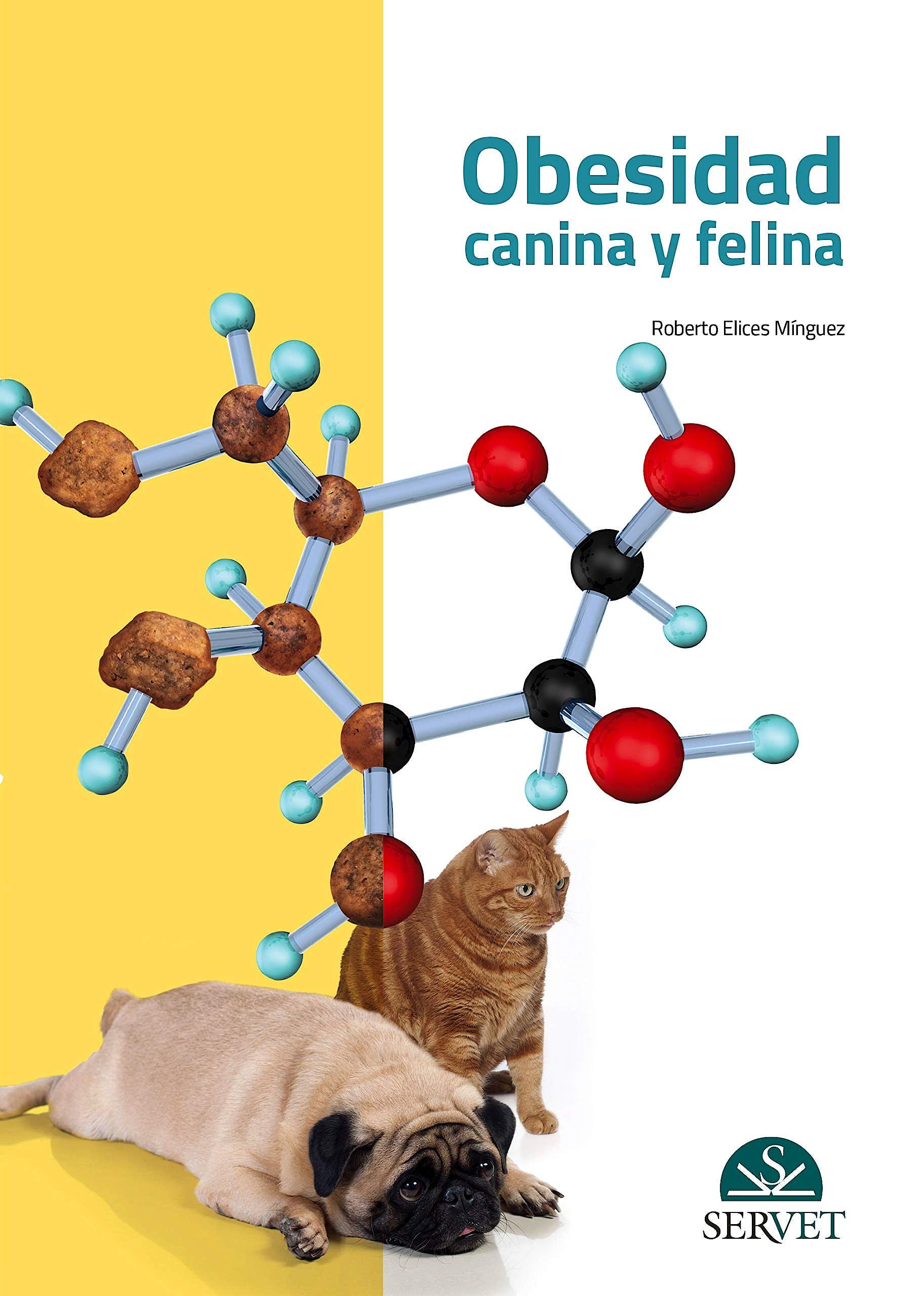 Portada del libro 9788417225780 Obesidad Canina y Felina