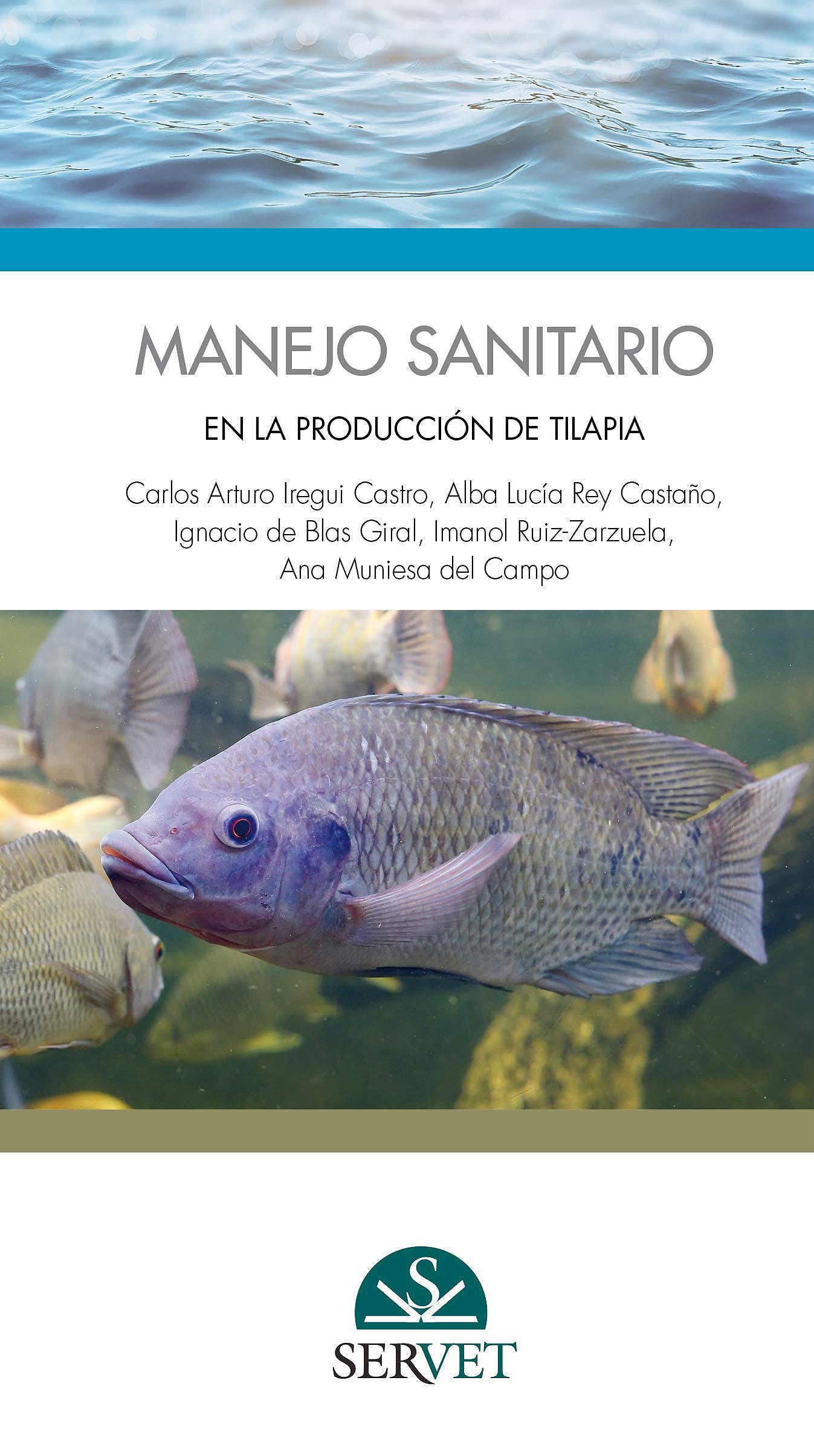 Portada del libro 9788417225995 Manejo Sanitario en la Producción de Tilapia