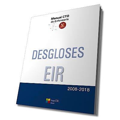 Portada del libro 9788417311711 Desgloses EIR 2008-2018