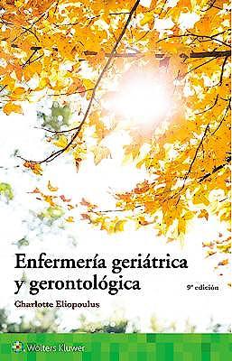 Portada del libro 9788417370299 Enfermería Geriátrica y Gerontológica